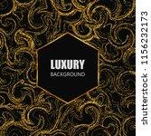 gold glitter texture. luxury... | Shutterstock .eps vector #1156232173