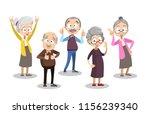 vector cartoon illustration of... | Shutterstock .eps vector #1156239340