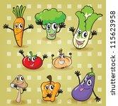 illustration of various... | Shutterstock .eps vector #115623958