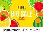 abstract summer sale background ... | Shutterstock . vector #1156240690