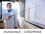 senior chemistry professor... | Shutterstock . vector #1156249366