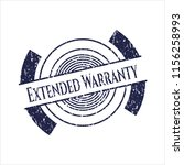 blue extended warranty distress ... | Shutterstock .eps vector #1156258993