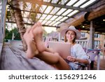 technology and travel. working... | Shutterstock . vector #1156291246