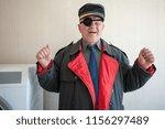 military pensioner receive...   Shutterstock . vector #1156297489