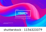 abstract 3d background. wave... | Shutterstock .eps vector #1156323379