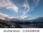beautiful sky before sunrise in ... | Shutterstock . vector #1156338436