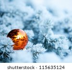 Christmas Winter Background....