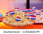 Traditional dutch snack cheese...