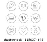 love heart  brilliant and... | Shutterstock .eps vector #1156374646