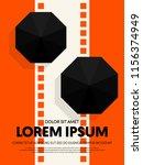 movie and film modern retro...   Shutterstock .eps vector #1156374949