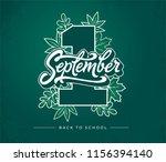 1 first september brush... | Shutterstock .eps vector #1156394140