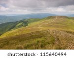 road to the broad peak and... | Shutterstock . vector #115640494