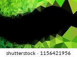 light green vector low poly... | Shutterstock .eps vector #1156421956