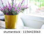 light from the window and decor ...   Shutterstock . vector #1156423063