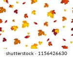 autumn background design.... | Shutterstock . vector #1156426630