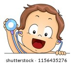 illustration of a kid boy... | Shutterstock .eps vector #1156435276