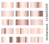 soft rose gold or pink blush... | Shutterstock .eps vector #1156451929