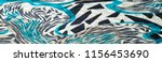 insulated synthetic fabric with ... | Shutterstock . vector #1156453690