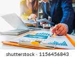 business team present.... | Shutterstock . vector #1156456843