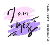 i am a mess   simple inspire... | Shutterstock .eps vector #1156478950