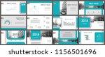 set of web page design... | Shutterstock .eps vector #1156501696