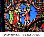 paris  france   january 09 ... | Shutterstock . vector #1156509400
