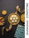 raksha bandhan festival  ... | Shutterstock . vector #1156527586