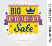 super sale  mega sale  sale... | Shutterstock .eps vector #1156538170