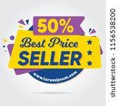 super sale  mega sale  sale... | Shutterstock .eps vector #1156538200