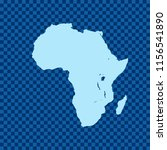map of africa   Shutterstock .eps vector #1156541890