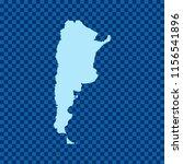 map of argentina   Shutterstock .eps vector #1156541896