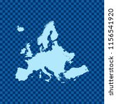 map of europe   Shutterstock .eps vector #1156541920