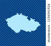 map of czech republic   Shutterstock .eps vector #1156541926