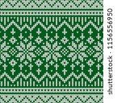 winter sweater fairisle design. ...   Shutterstock .eps vector #1156556950