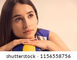 female professional volleyball... | Shutterstock . vector #1156558756