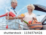 low angle view of a cheerful... | Shutterstock . vector #1156576426
