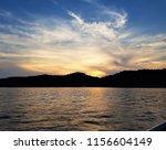 sea   dusk landscape | Shutterstock . vector #1156604149