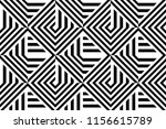 seamless pattern with striped... | Shutterstock .eps vector #1156615789