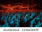kiev 11 august 2018 excited... | Shutterstock . vector #1156626439