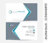 business card vector background | Shutterstock .eps vector #1156646893