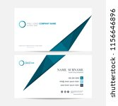 business card vector background | Shutterstock .eps vector #1156646896