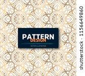 luxury ornamental mandala... | Shutterstock .eps vector #1156649860
