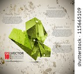 eps10 vector abstract grunge... | Shutterstock .eps vector #115665109