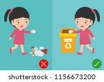 do not throw littering butts on ...   Shutterstock .eps vector #1156673200