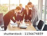 group of business people... | Shutterstock . vector #1156674859