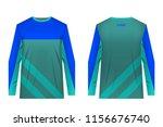 templates of sportswear designs ...   Shutterstock .eps vector #1156676740