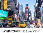 new york  usa   may 10  2018 ... | Shutterstock . vector #1156677910