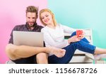modern young people leisure... | Shutterstock . vector #1156678726