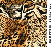Seamless Wild Safari Skin Pattern - Fine Art prints