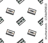 retro seamless background with... | Shutterstock .eps vector #1156690813
